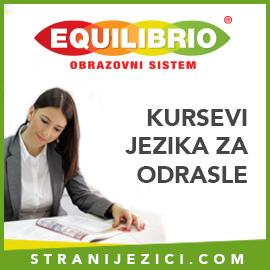 Obrazovni sistem EQUILIBRIO. UCENJE STRANIH JEZIKA BEOGRAD